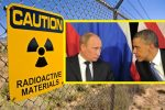 Sign, Radioactive Materials, Trinity Site, Manhattan Project, New Mexico