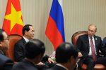 Vladimir Putin gặp với Chủ tịch nước của Việt Nam tại Peru